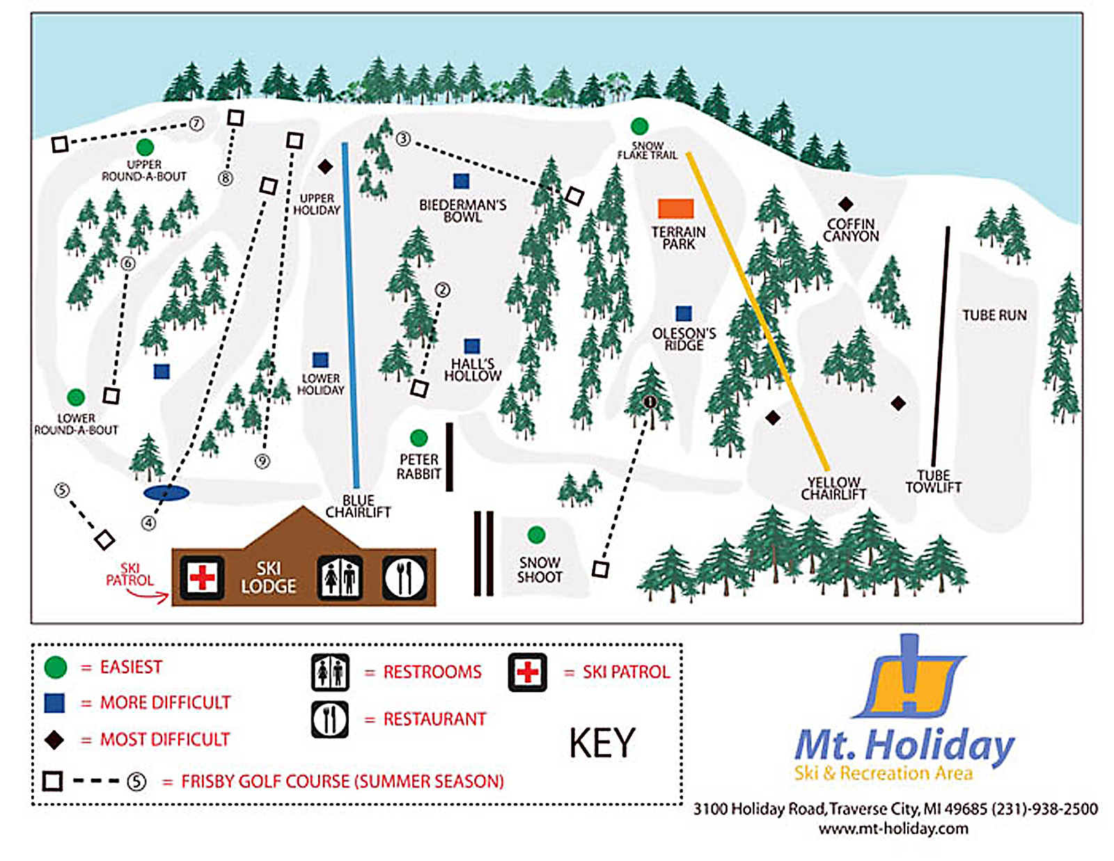 Mt Holiday Ski Area