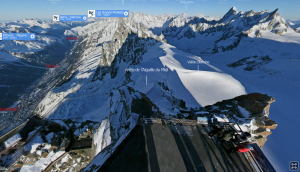 Virtual 3D view from the top. Seriously cool. Click the Image and have a look