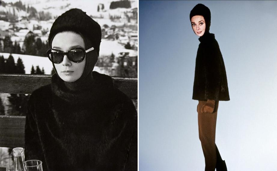 Audrey Hepburn, Charade, 1963.