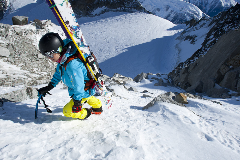 Ingrid Backstrom, Chamonix, France photo:Adam Clark