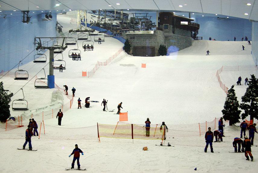 snowcomparison.com + strangest ski resorts in the world