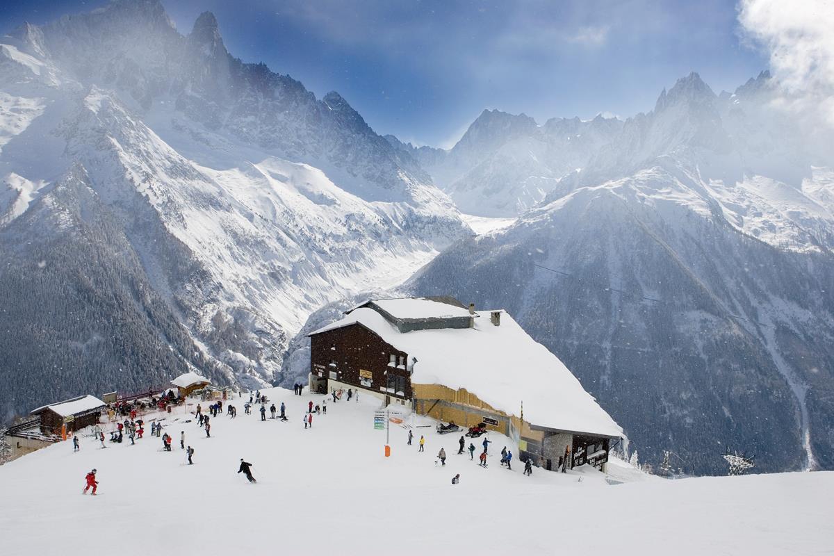 Top 5 Ski Resorts Near Geneva  Snowcomparison