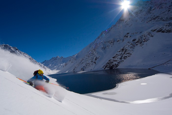 Snowcomparison.com How to Ski in the Southern Hemisphere - Portillo Chile