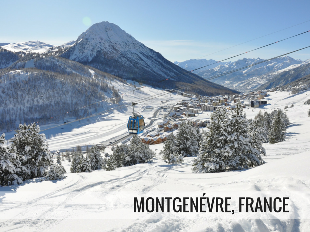 Via Lattea ski area - Montgenevre, France Snowcomparison.com