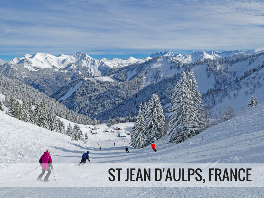 Portes du Soleil ski area - St Jean d'Aulps France ski resort Snowcompariosn.com