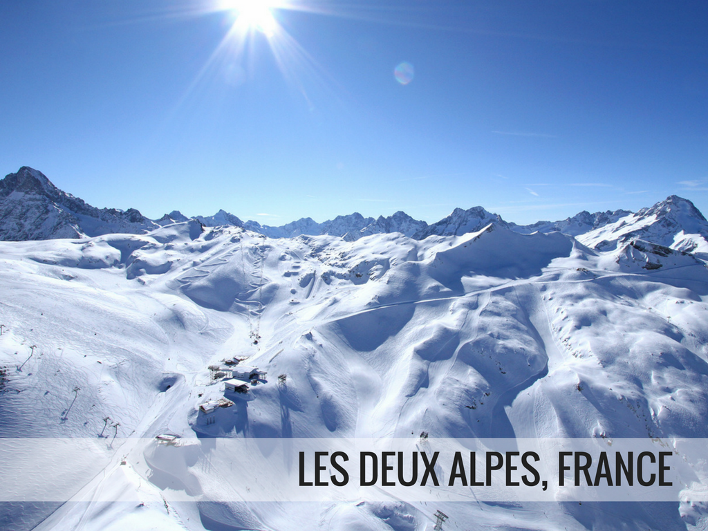 Grande Galaxie Ski Area - Les Deux Alpes France snowcomaparison.com