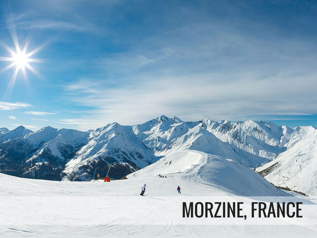 Portes du Soleil ski area - Morzine ski resort, France snowcomparison.com