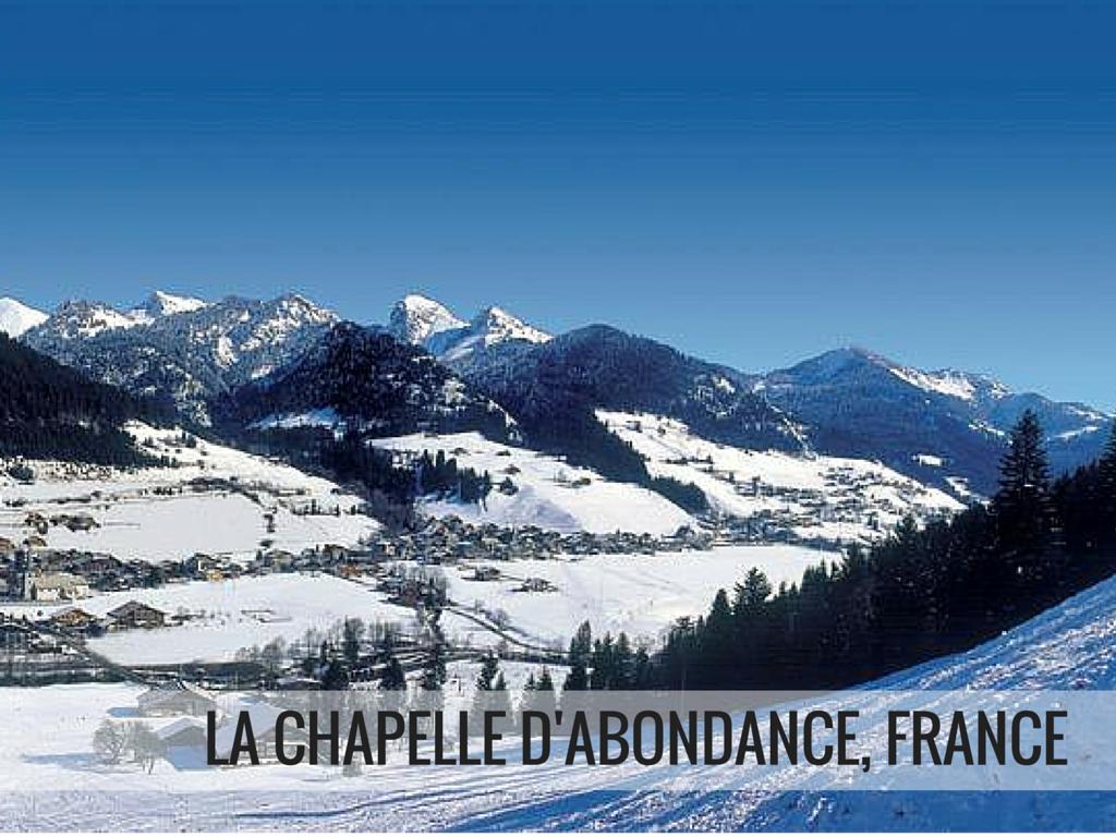 Portes du Soleil ski area - La Chapelle D'abondance ski resort, France Snowcomparison.com
