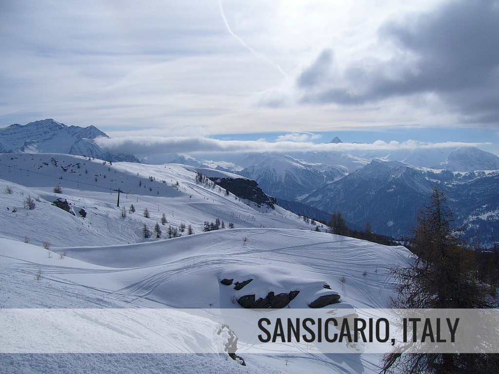Via Lattea ski area - Sansicario, Italy Snowcomparison.com