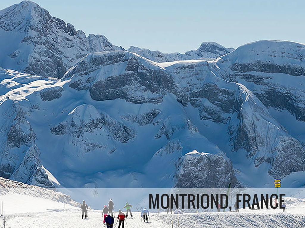 Portes du Soleil ski area - Montriond France ski resort Snowcomaprison.com