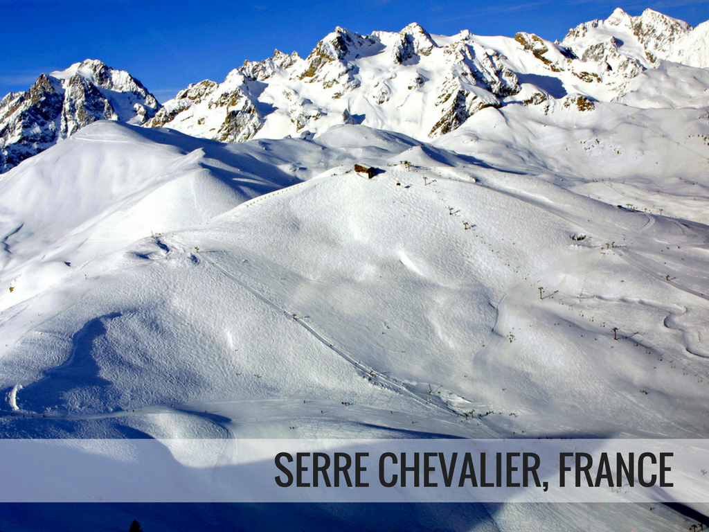 Grande Galaxie Ski Area - Serre Chevalier France snowcomparison.com
