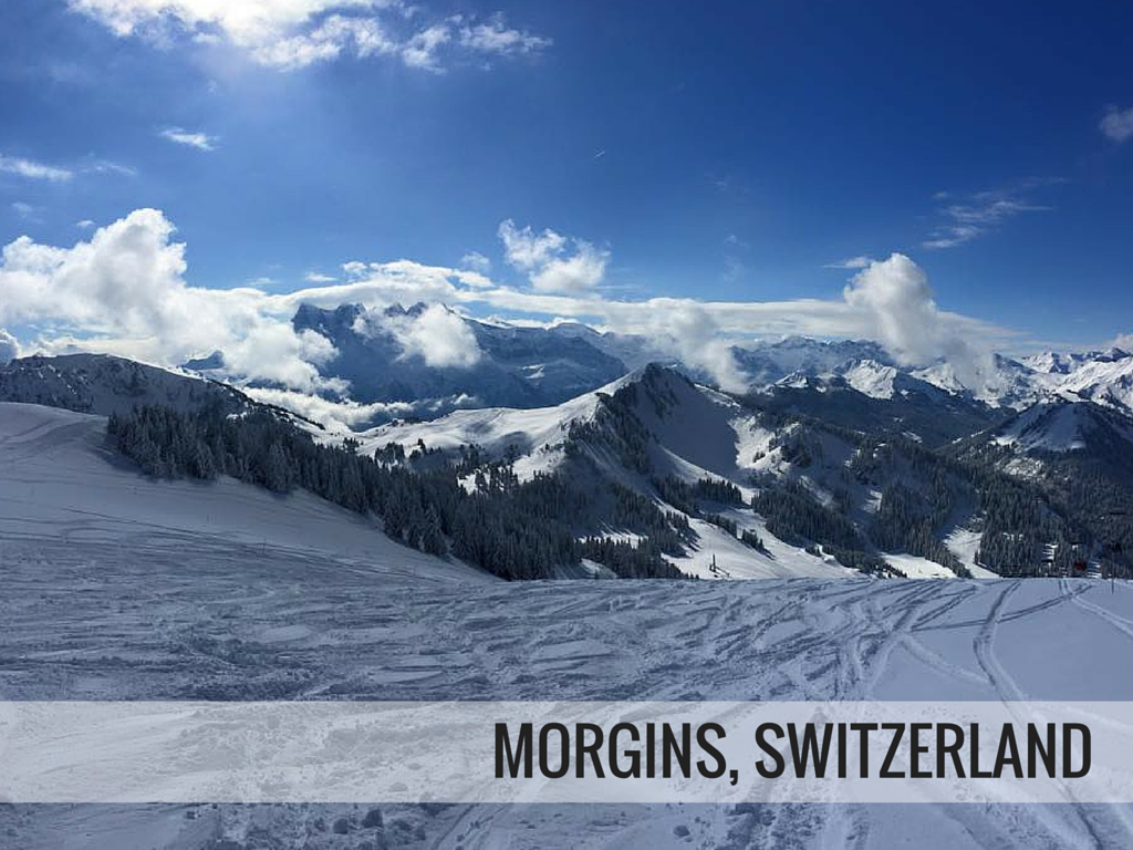 Portes du Soleil ski area - Morgins ski resort Switzerland snowcomparison.com