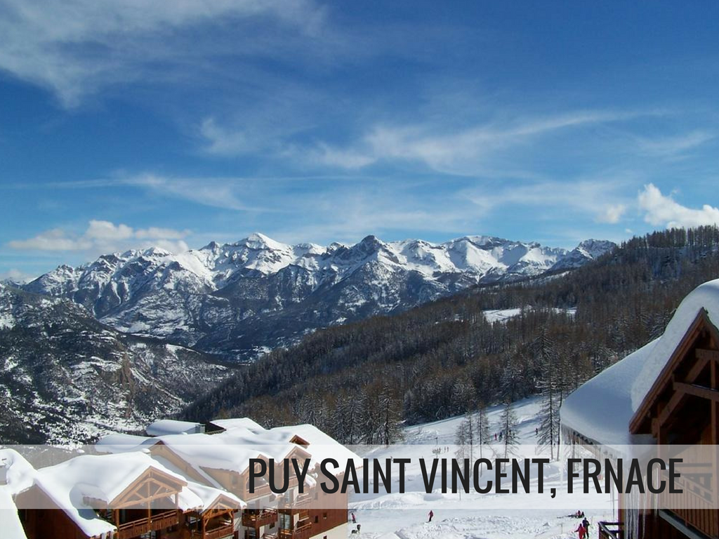 Grande Galaxie Ski Area - Puy Saint Vincent France