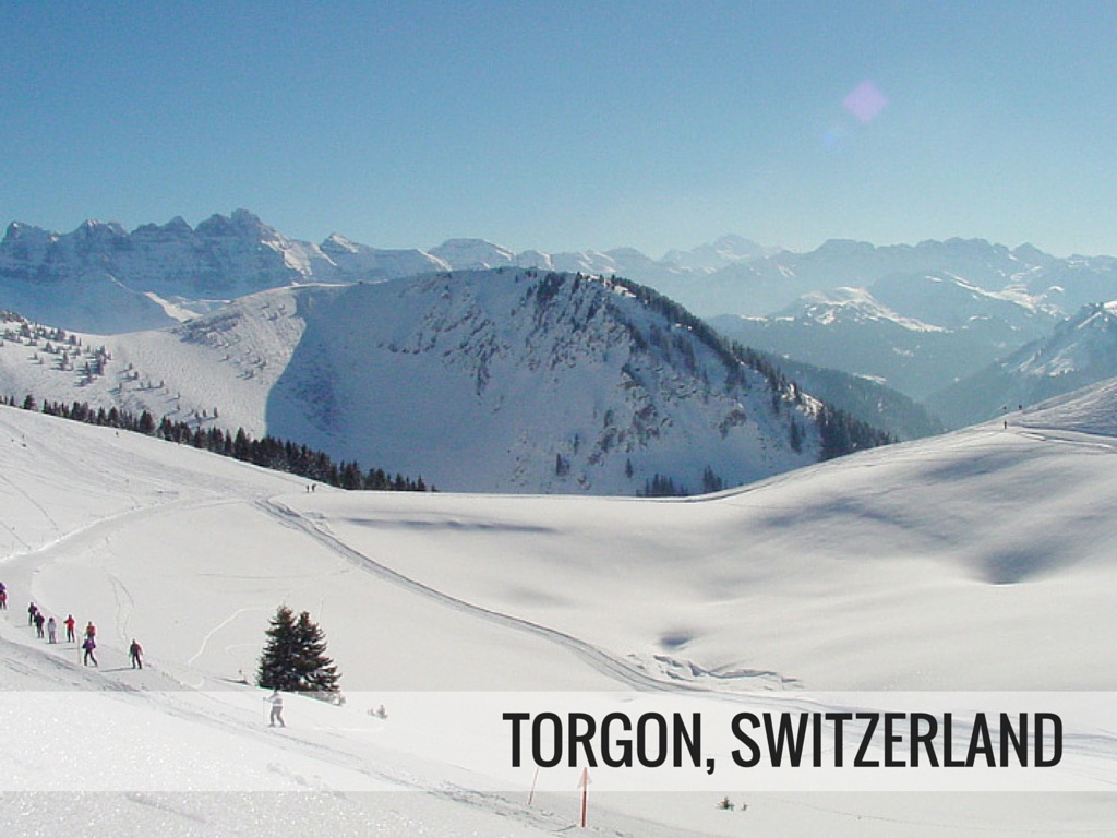 Portes du Soleil ski area - Torgon Switzerland ski resort Snowcomparison.com