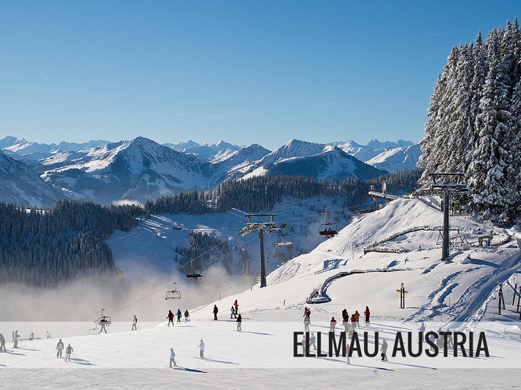 SkiWelt ski area - Ellmau ski resort, Austria Snowcomparison.com