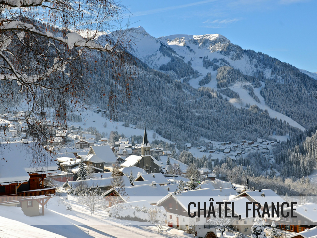 Portes du Soleil ski area - Chatel ski resort, France Snowcomparison.com