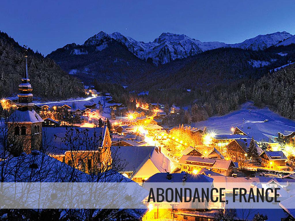 Portes du Soleil ski area - Abondance ski resort France
