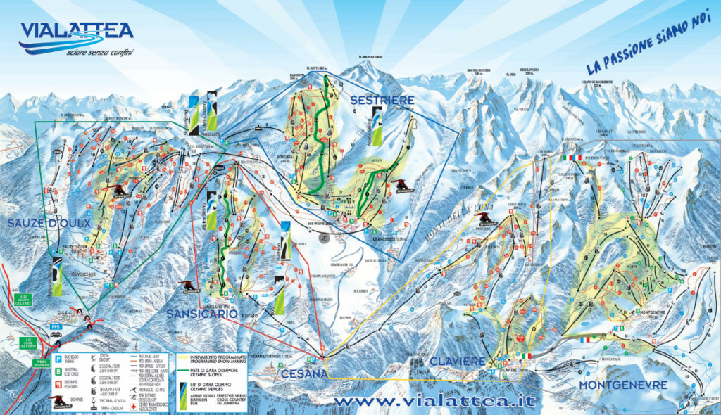 ski_map_vialattea italy