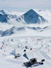 How to ski in the summer Stubai Glacier Austria Snowcomparison.com