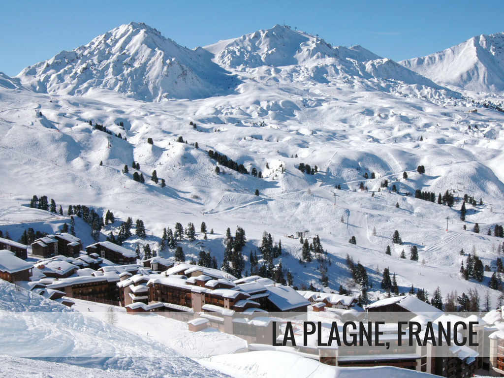 Paradiski Ski Area France - La Plagne Ski Resort