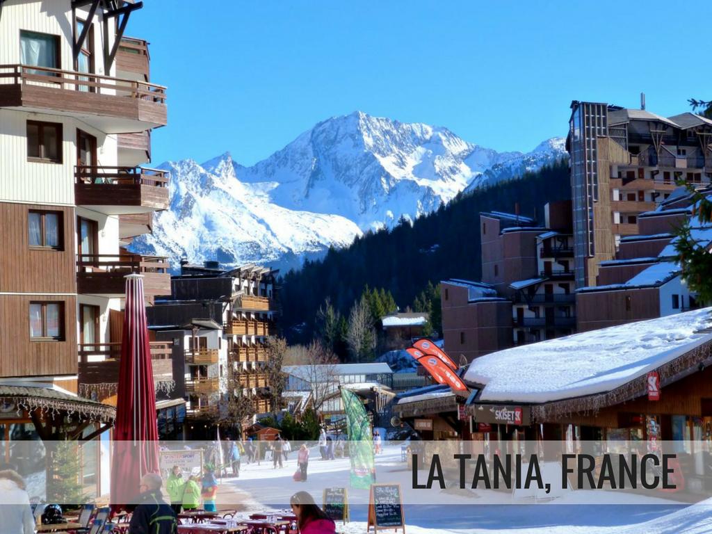 Les Trois Vallees Ski Area - La Tania, France