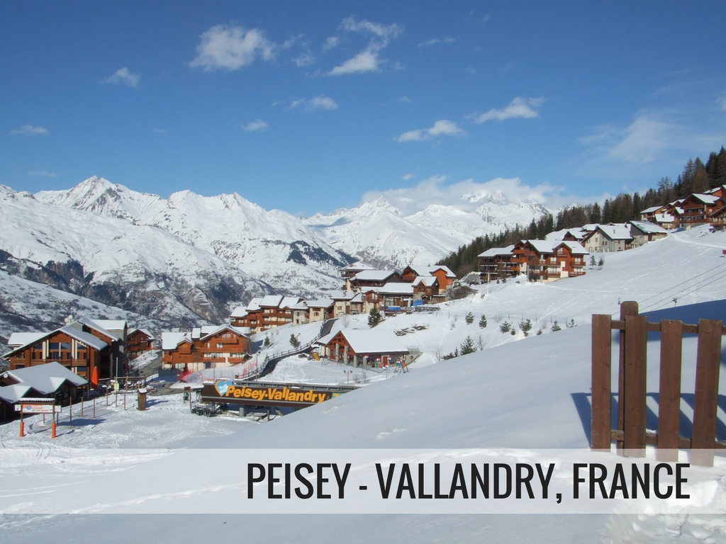Paradiski Ski Area France - Peisey-Vallandry Ski Resort