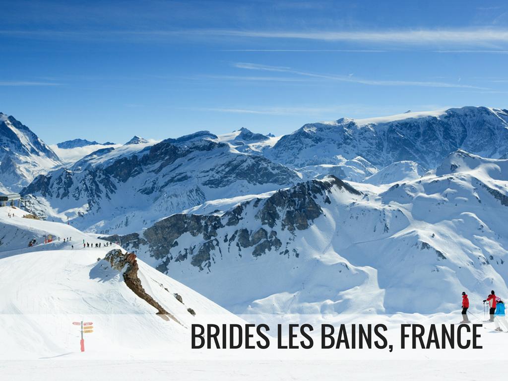 Les Trois Vallees Ski Area - Brides Les Bains, France