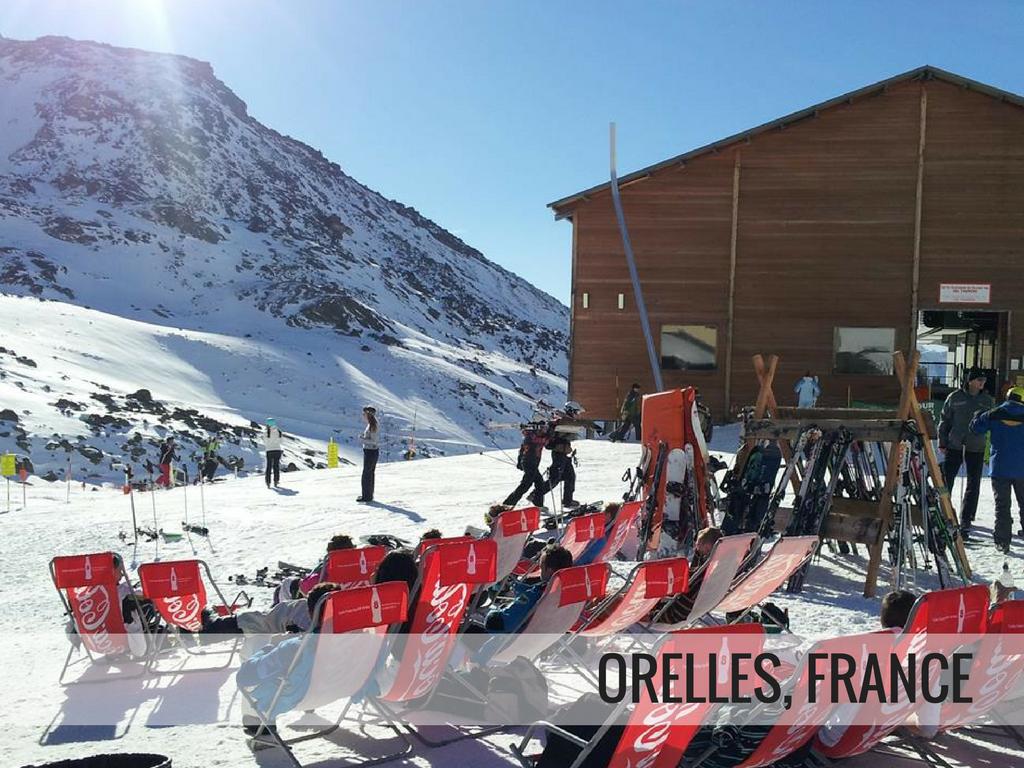 Les Trois Vallees Ski Area - Orelles, France