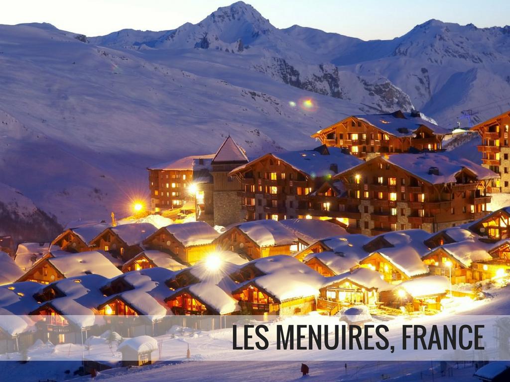 Les Trois Vallees Ski Area - Les Menuires, France