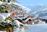 Les 3 Vallees Ski area - meribel ski resort france