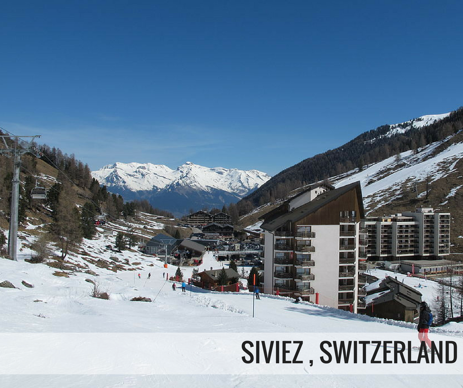 Siviez ski resort