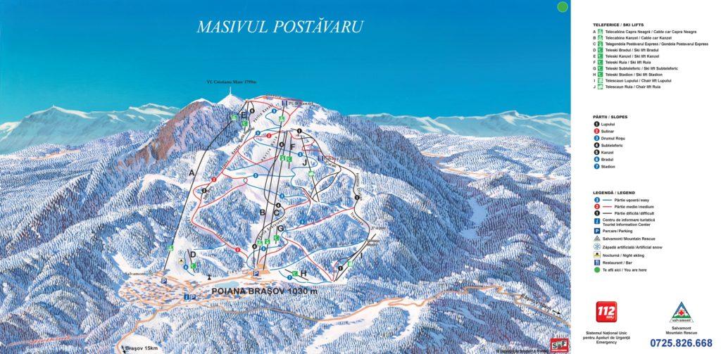 ROMANIAN SKI AREA: Poiana Brasov Ski Resort