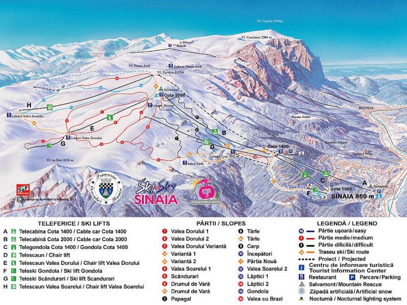 Sinaia Ski Resort