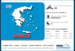 Greece ski resorts infographic