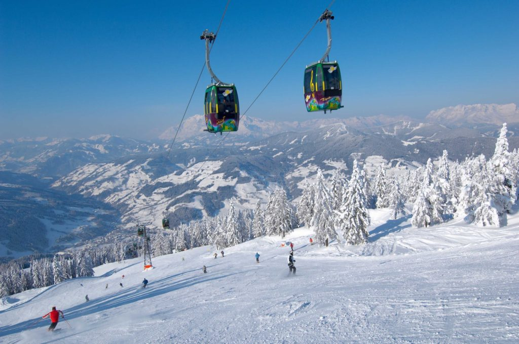 Wagrain ski resort