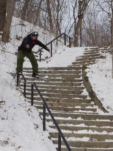 Seb Toots Montreal snowboarding