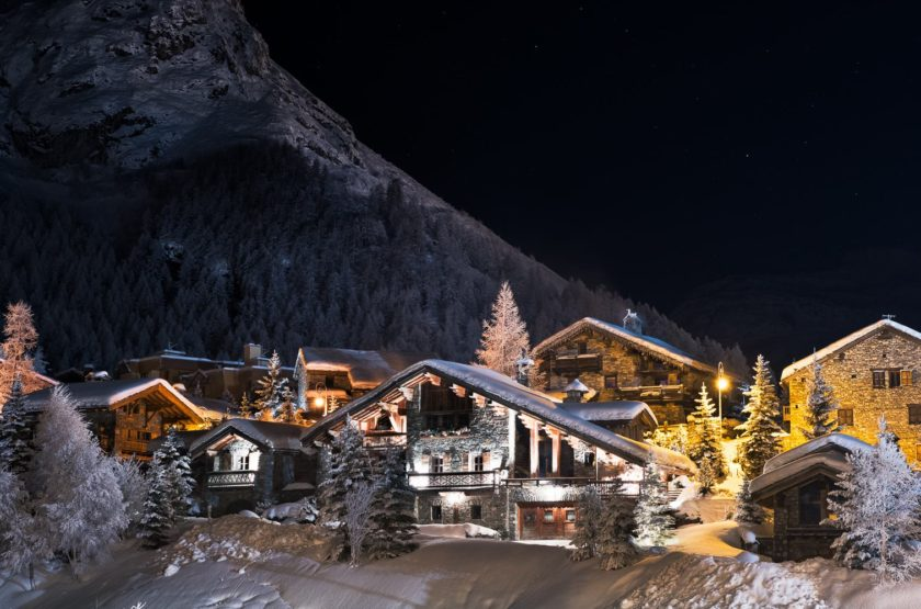Val d'isere ski resort, France