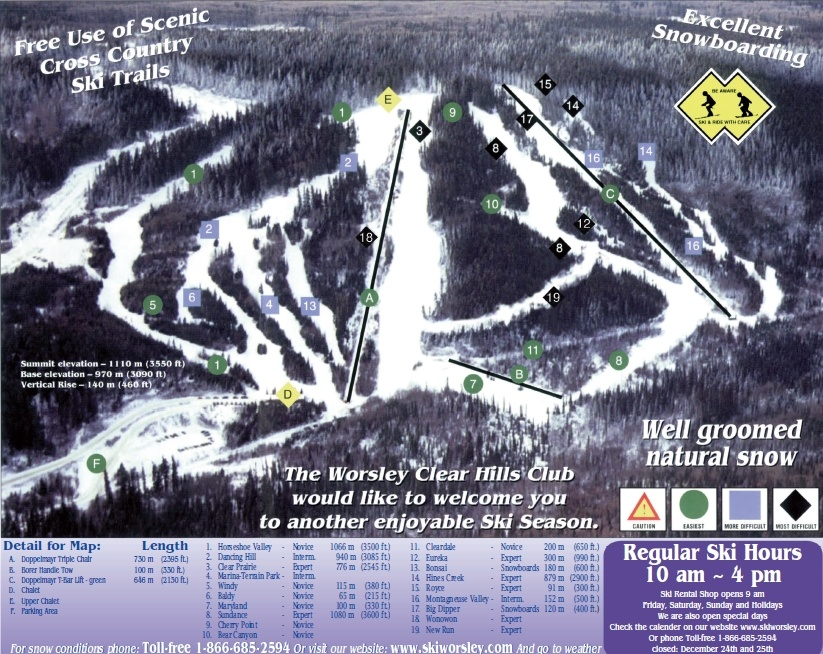 Whispering Pines Ski Hill